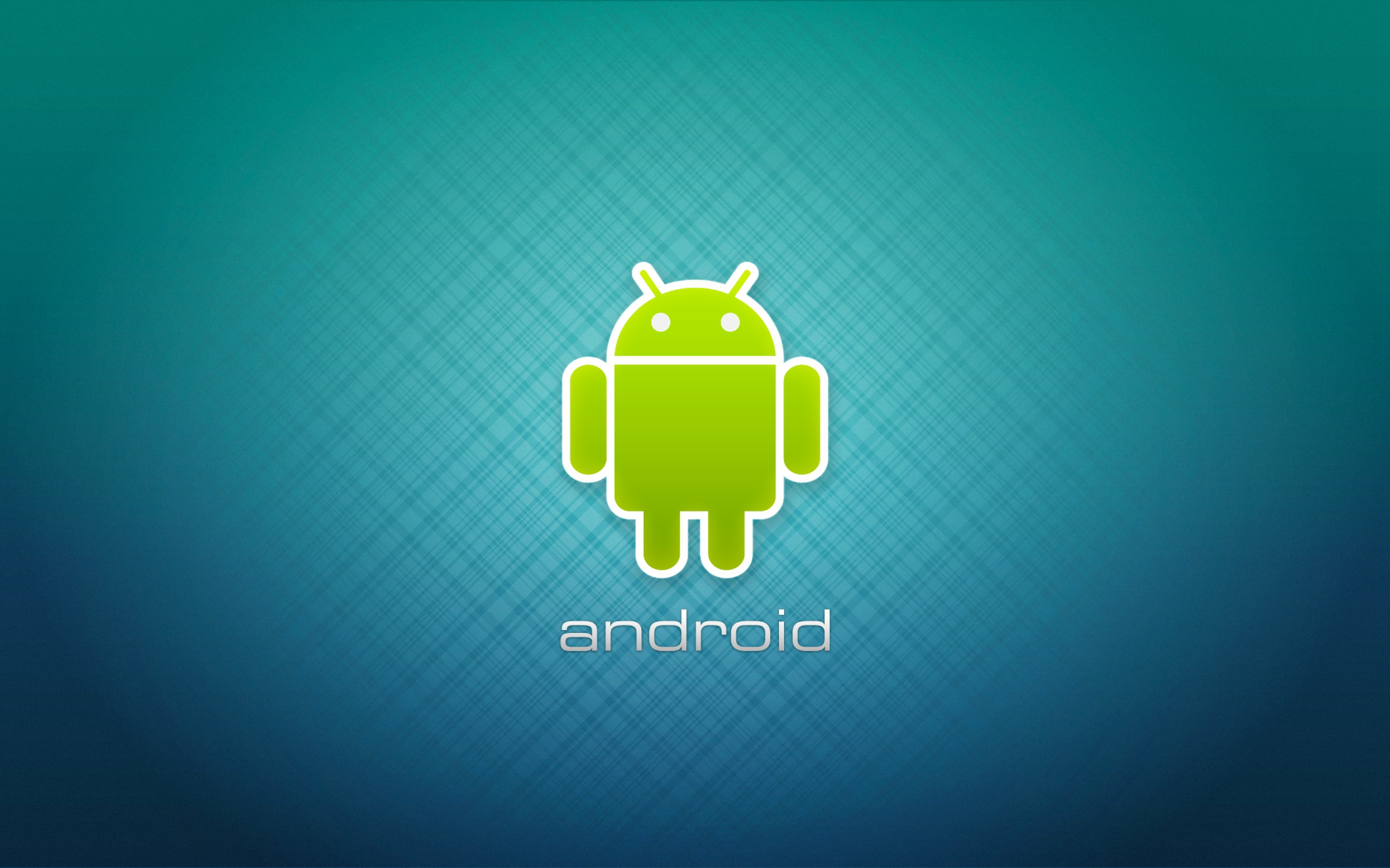 Wallpaper 3840x2400 Android Robot Logotype Ultra HD 4K HD Background 3840x2400