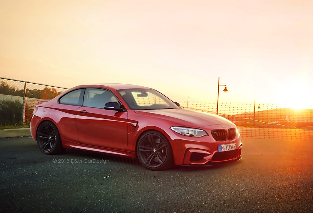 BMW M2 Coupe rendered 1024x698
