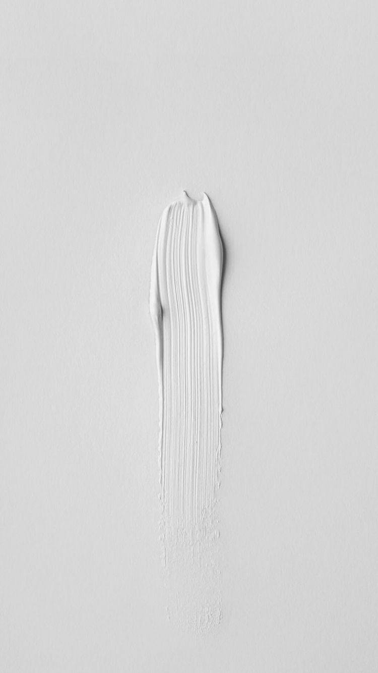 iPhone Art Paint Minimalistic White   Wallpaper Simple iphone 750x1334