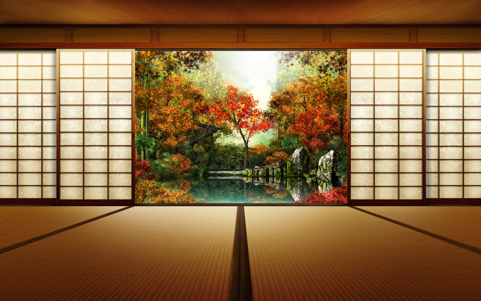 Japan House Indoor Wallpaper 1680x1050 ID26751 1680x1050