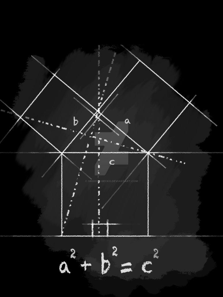 Pythagorean Theorem T Shirt by Groovy Gecko 774x1032