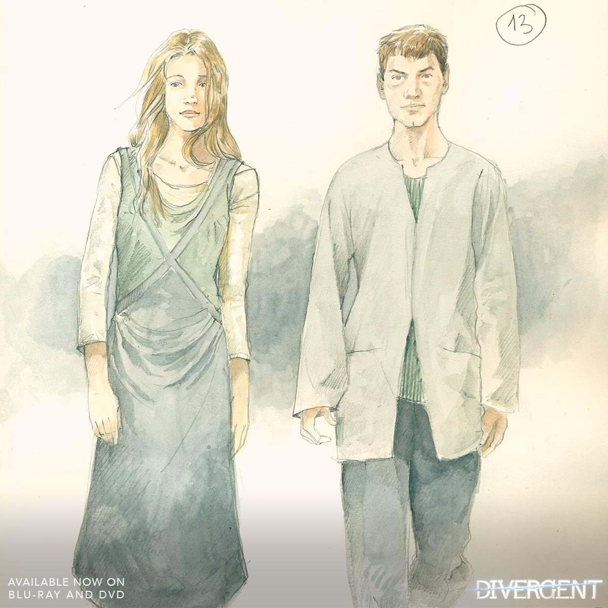 Sketch of dress attire abnegation   Divergent Photo 37515839 1200x1200