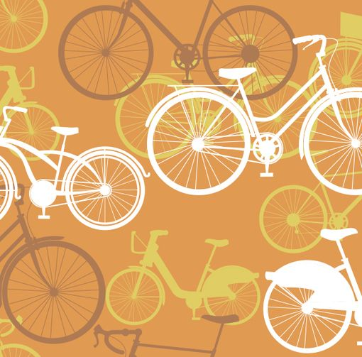 Vintage Bikes Removable Wallpaper Bike Pinterest 510x503