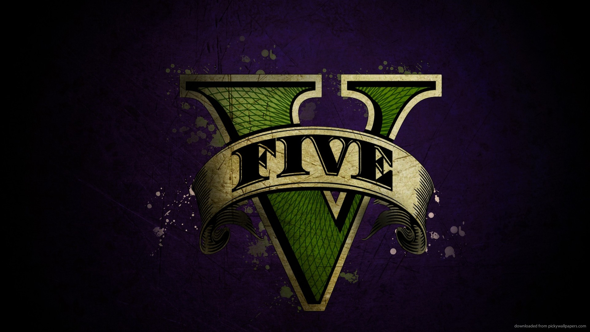 gta 5 logo wallpaper1920x1080 GTA 5 Logo Wallpaper 7EE2my6P 1920x1080
