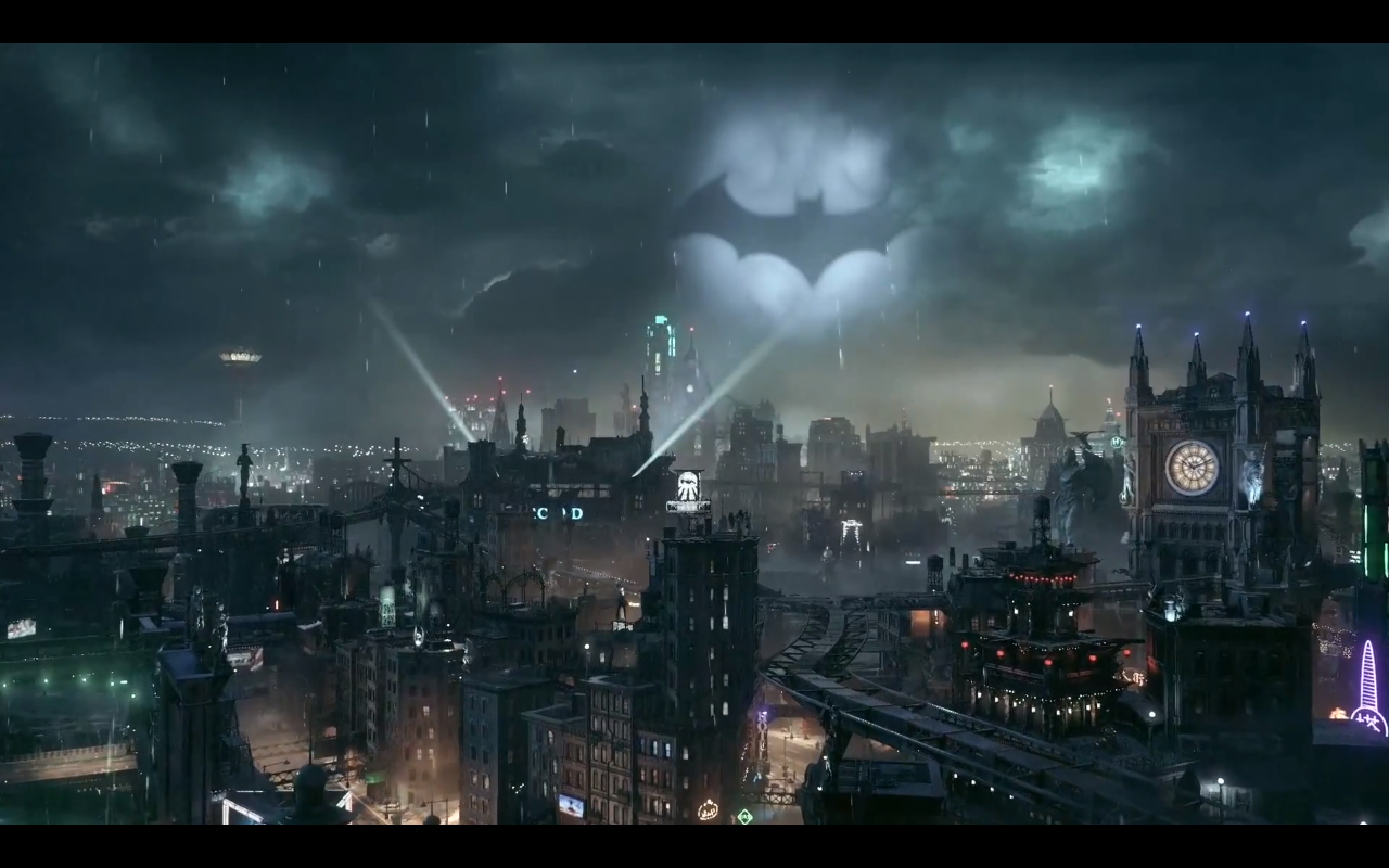 PlayStation Reveals Actual Gameplay Footage for Batman Arkham Knight 1280x800