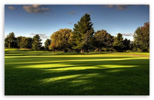 Beautiful Golf Course HD desktop wallpaper Widescreen Fullscreen 510x330