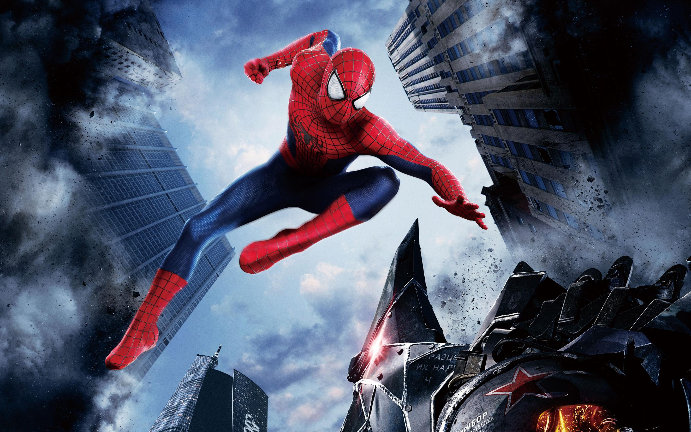 HD 3D Wallpapers Download HD The Amazing Spider Man 2 2014 2880x1800