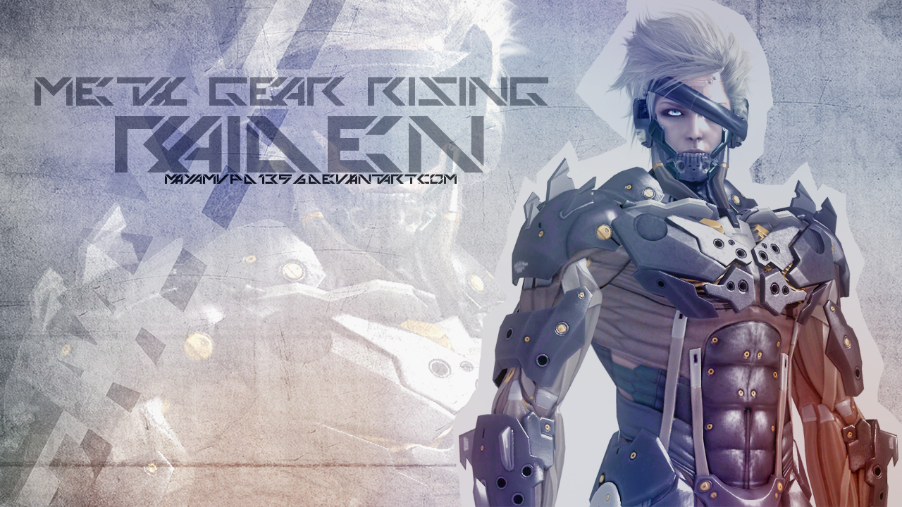 Metal gear 5 wallpaper wallpapersafari raiden metal gear rising wallpaper by mayamvpd1356 on deviantart voltagebd Image collections