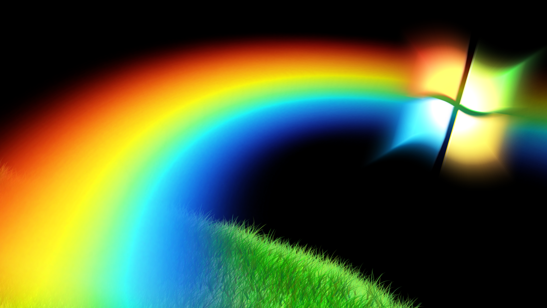 HD Rainbow Wallpaper