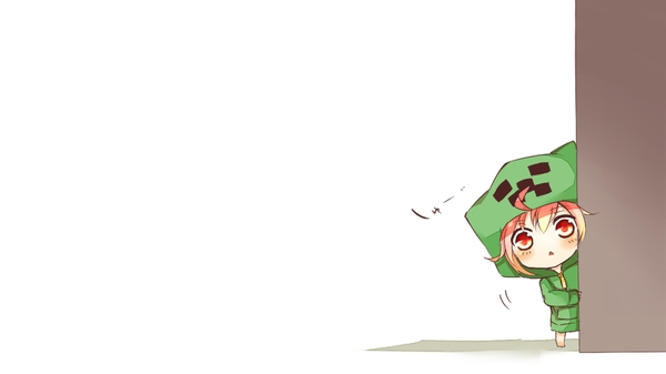 creeperchibi chibi creeper minecraft anime Minecraft Wallpapers 600x337