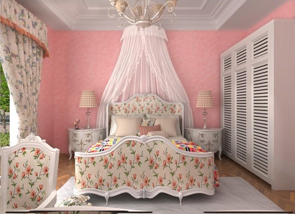Girls Bedroom Pink Pink Wallpaper For Girl 1034x750