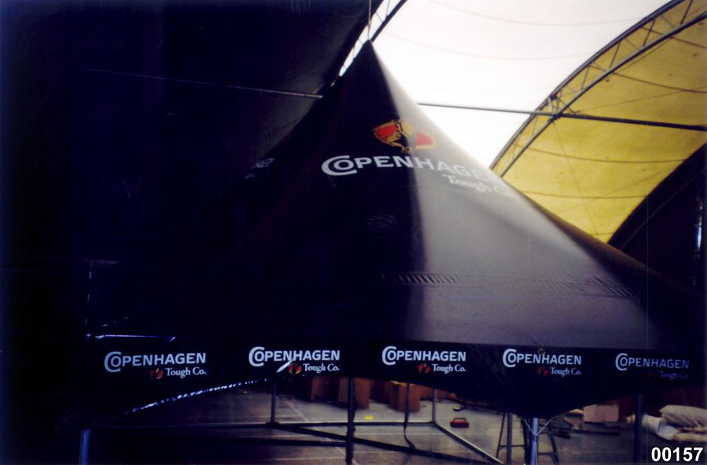Copenhagen Tobacco Warner Hexagon Logo Tent 1024x673