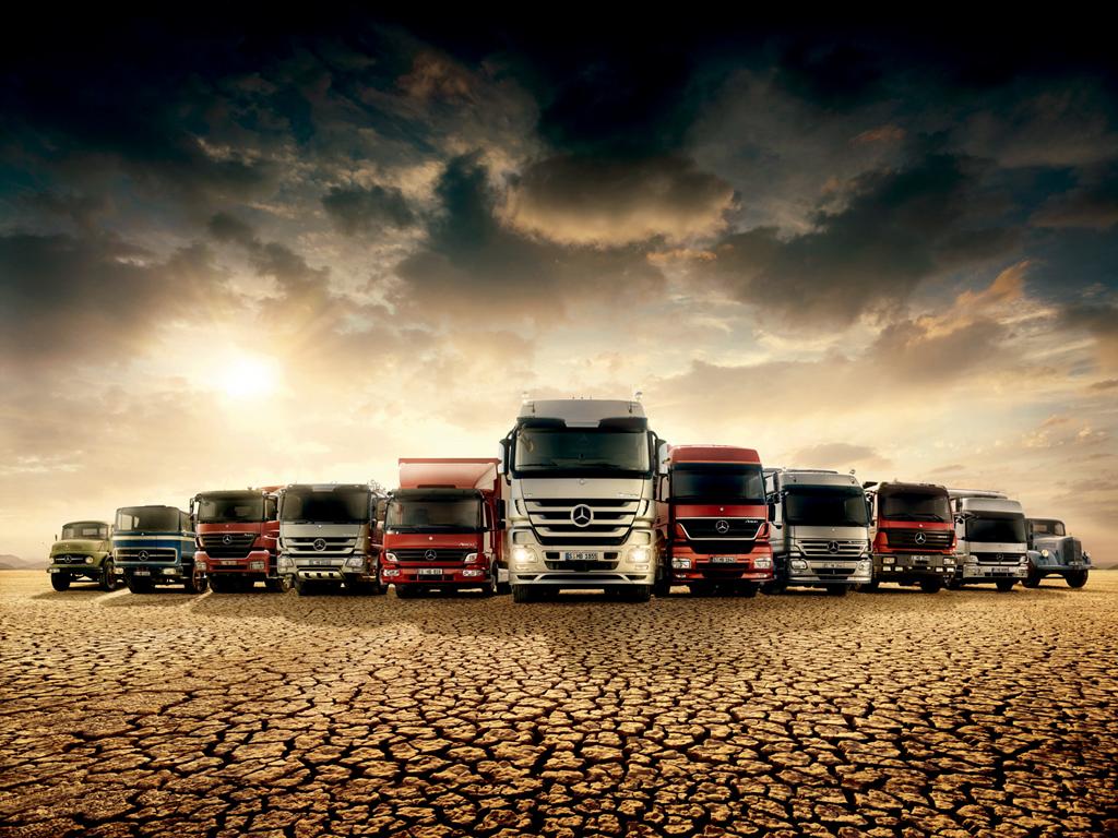 Mercedes Truck Wallpapers