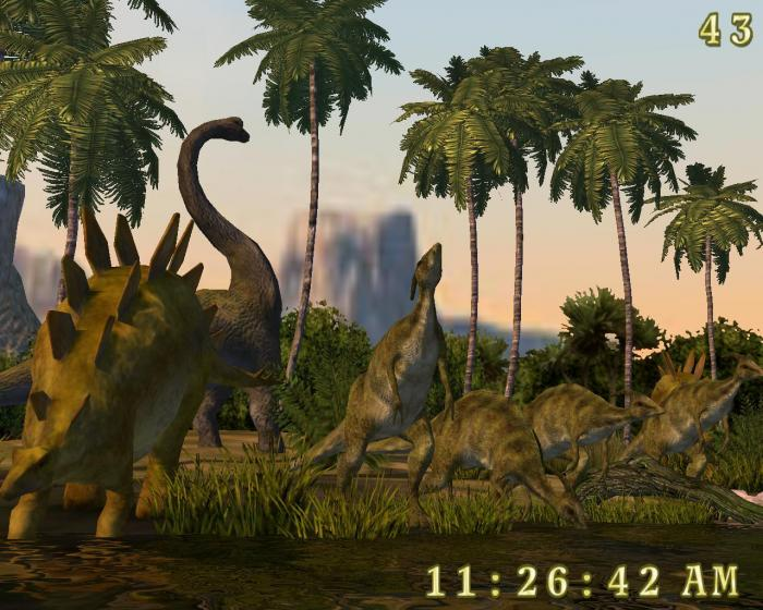 Dinosaurs 3D Screensaver   Download 700x560