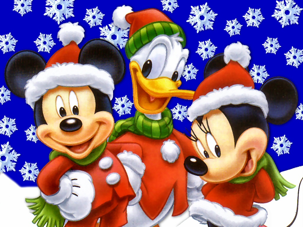 Disney Christmas   Wallpaper 24547 1024x768