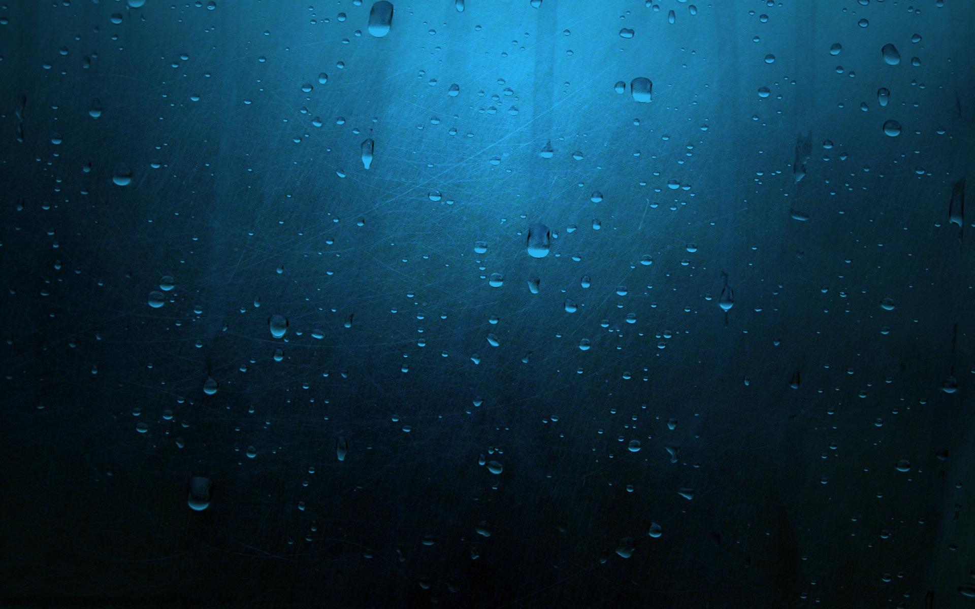 Water Droplets Scratched Blue Metal HD Wallpaper Wallsev 1920x1200