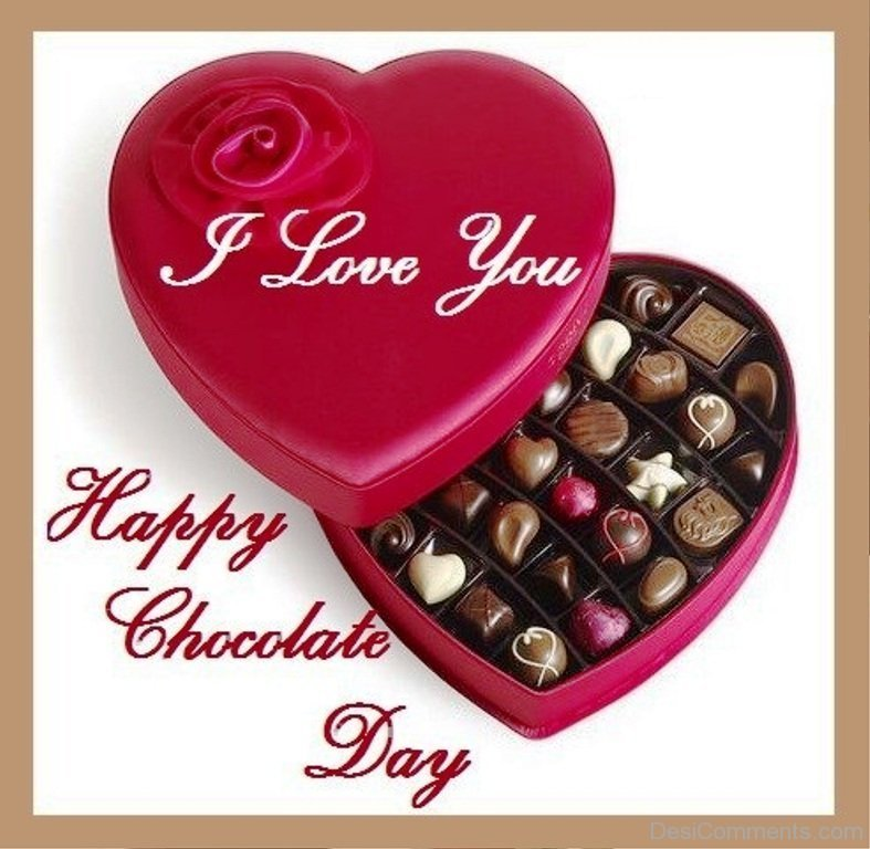 Chocolate Day Wallpaper Download   Happy Chocolate Day My Love 787x768