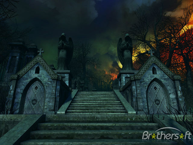 Download Haunted House 3D Screensaver Haunted House 3D 640x480