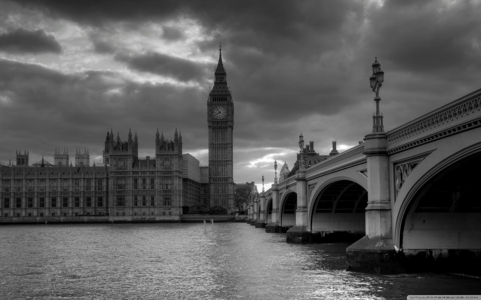 Black and White City HD Widescreen Tweet This Bookmark this on 1600x1000