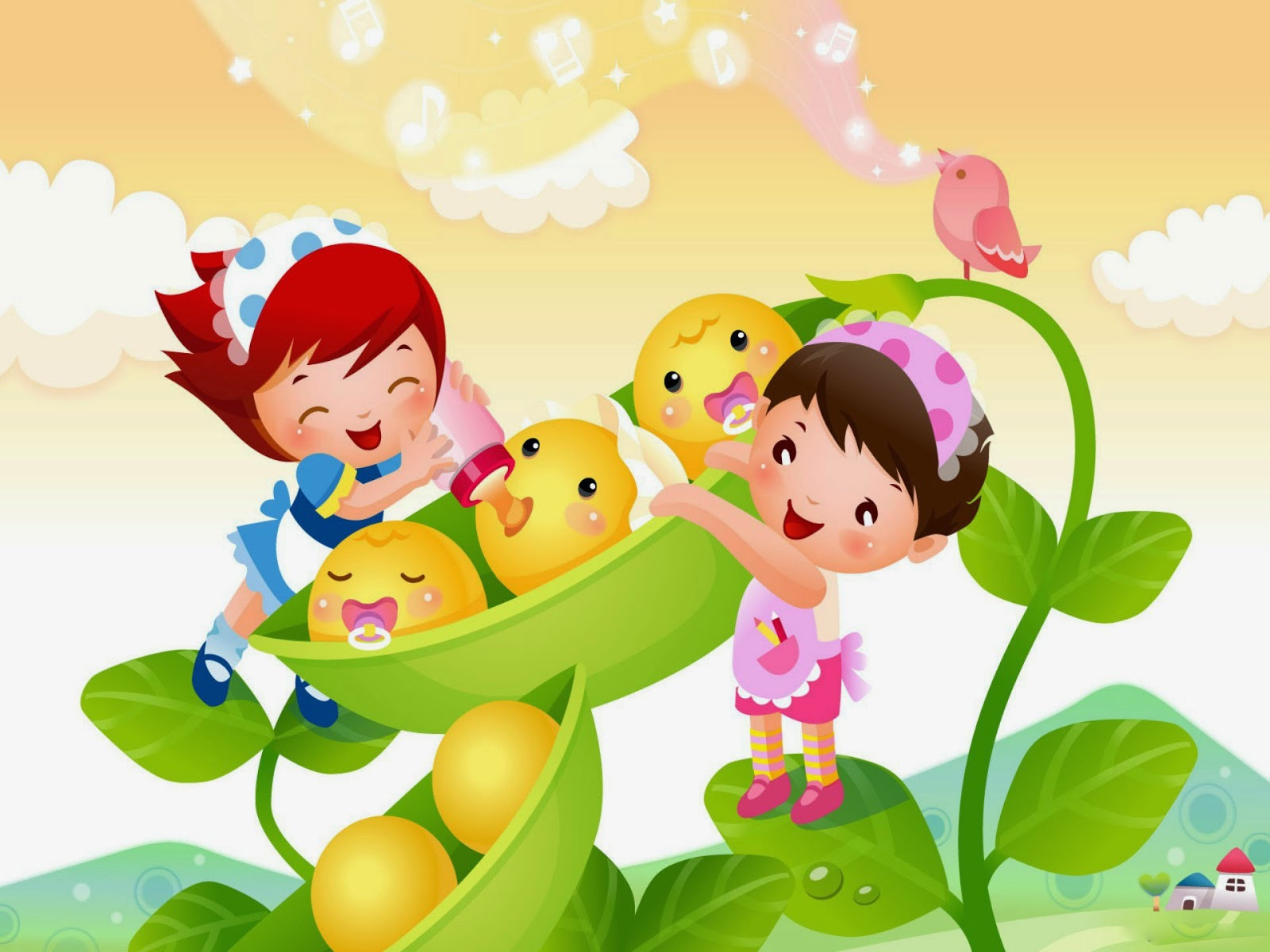 46 new hd cartoon wallpapers on wallpapersafari - Cute cartoon hd images ...