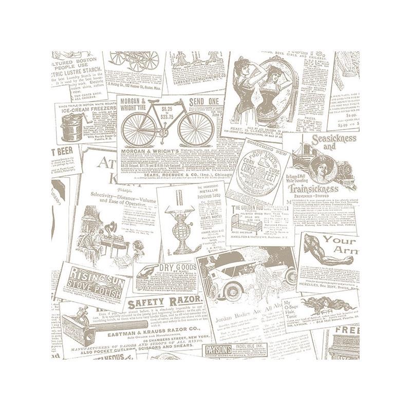 27 1930 S Newsprint Wallpaper On Wallpapersafari