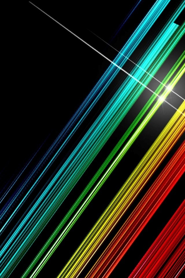 free iphone wallpapers hd awesome color lines iphone wallpaper hd 640x960