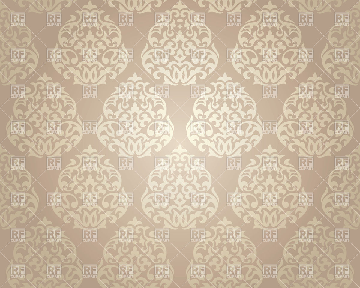 White damask ornament on beige background   seamless wallpaper 37288 1200x960