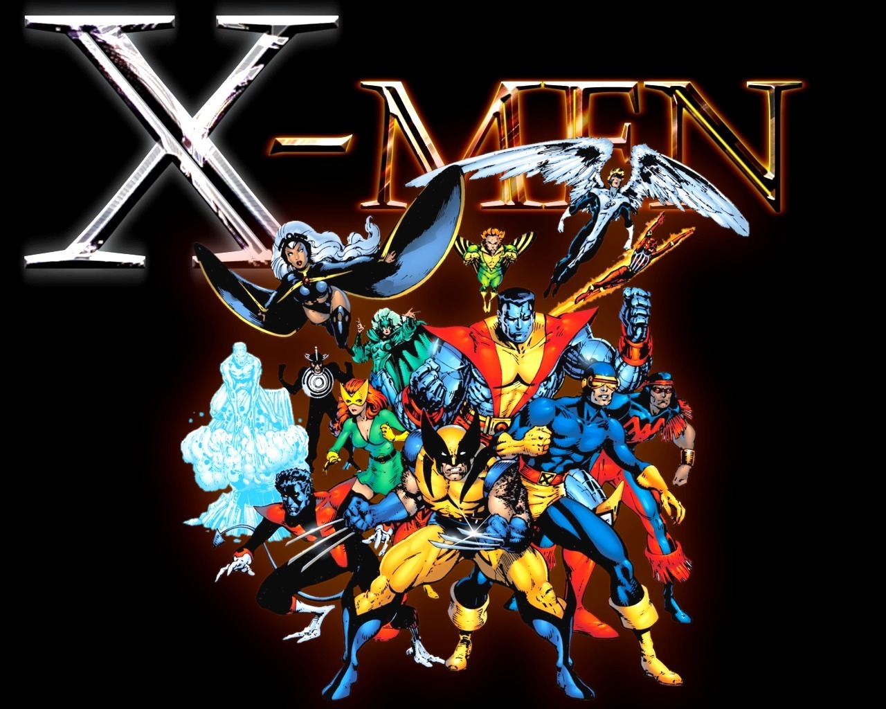 Wallpaper X Men The Movie 1280x1024