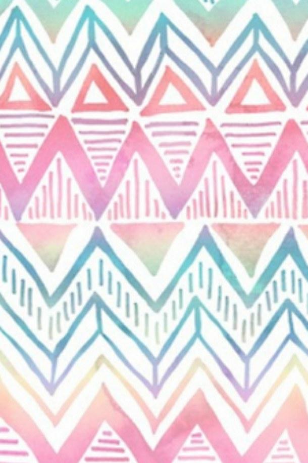 Pink Aztec Wallpaper Tumblr wwwpixsharkcom   Images 610x915