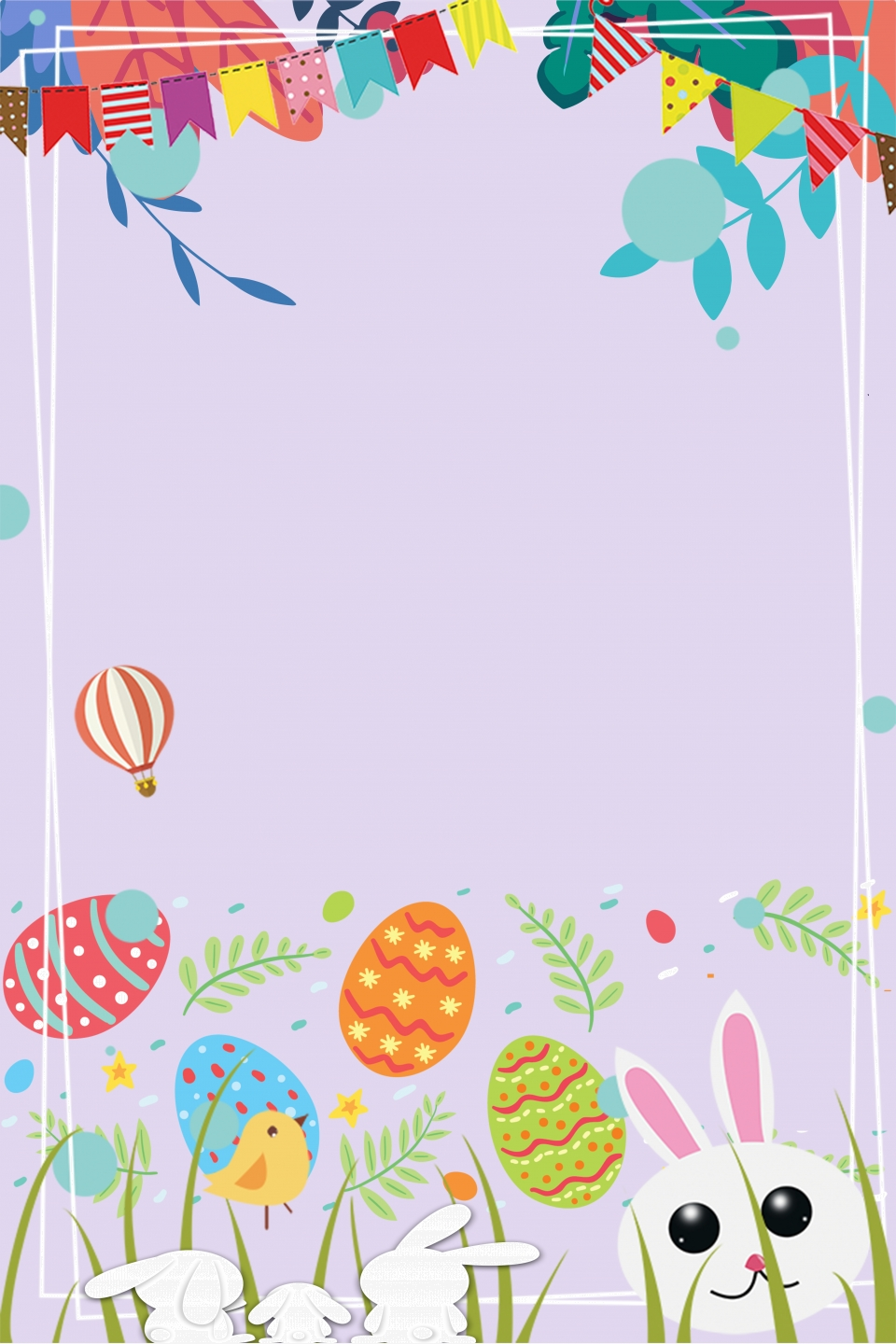 Easter Background Download 421 Bunny Cartoon Background 960x1440