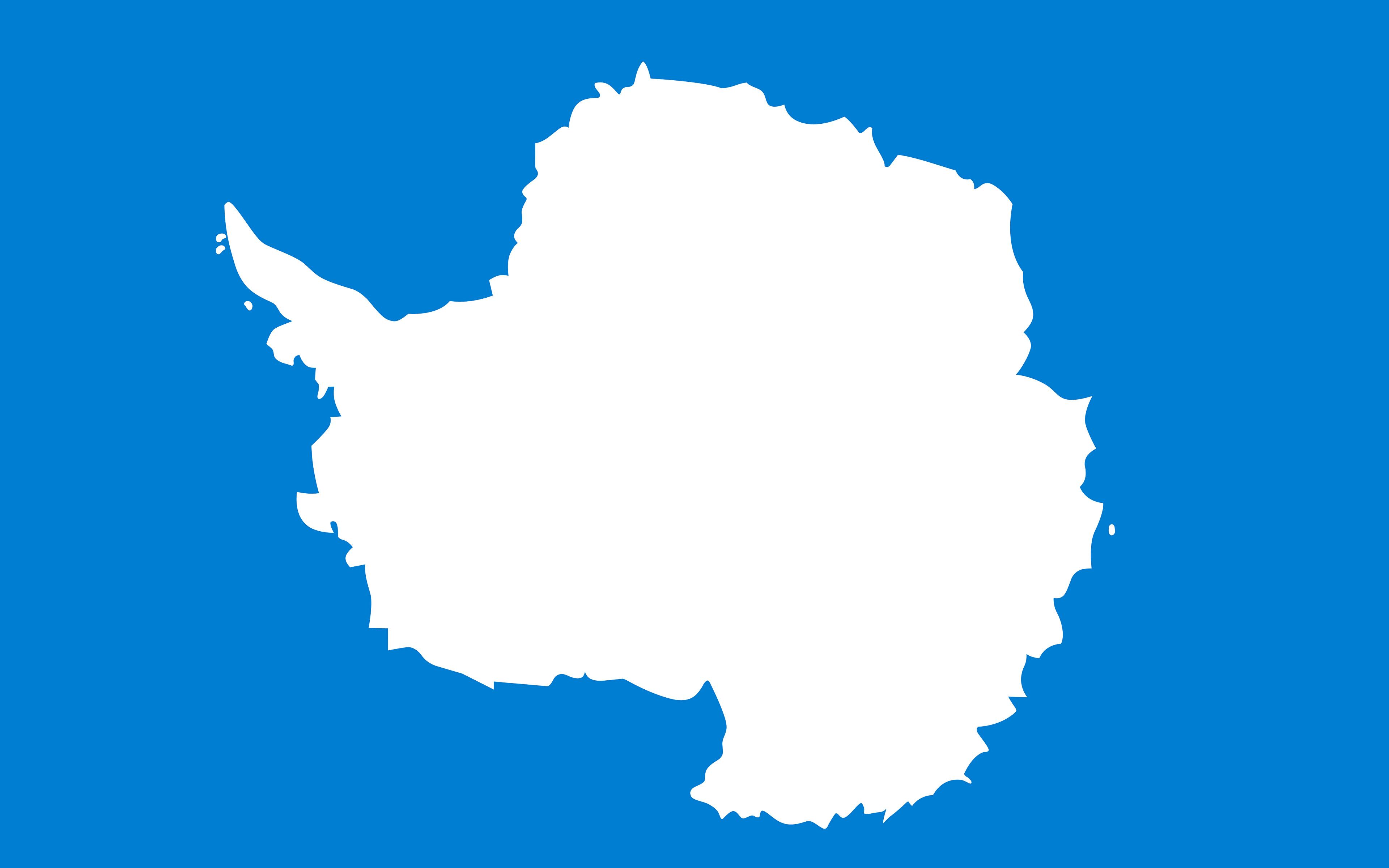 Wallpapers Antarctica Flag 3840x2400 3840x2400