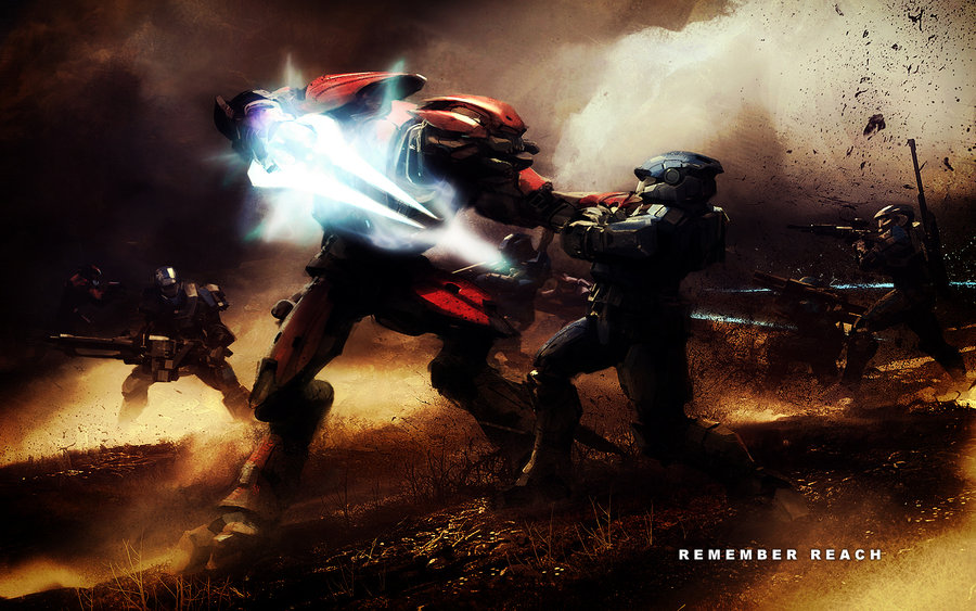 Awesome Halo Reach Backgrounds Wallpaper halo reach by 900x563