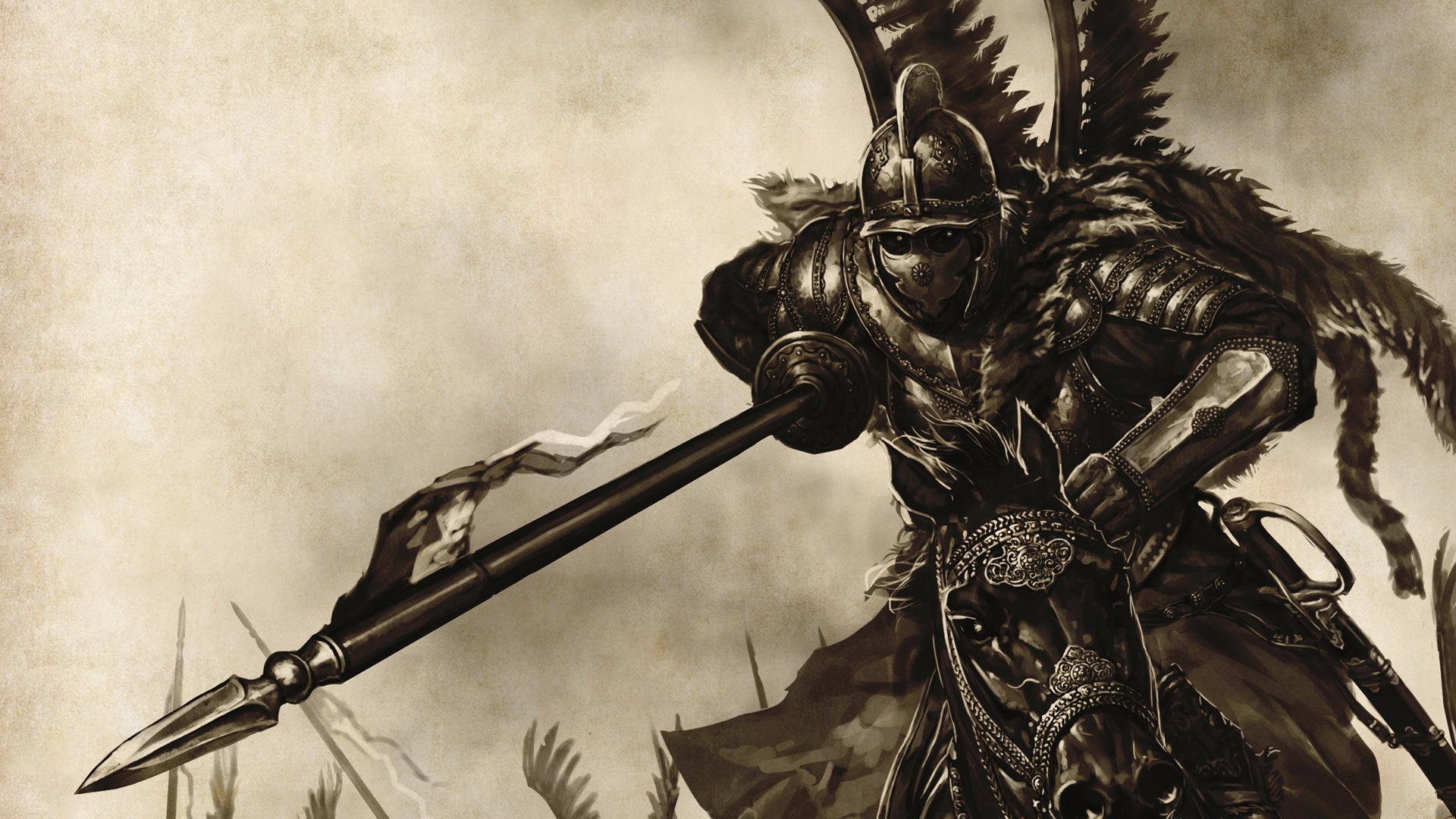 MOUNT AND BLADE fantasy warrior armor weapon g wallpaper background 1920x1080