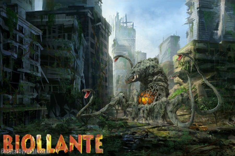 Biollante by SuperGodzilla 900x600