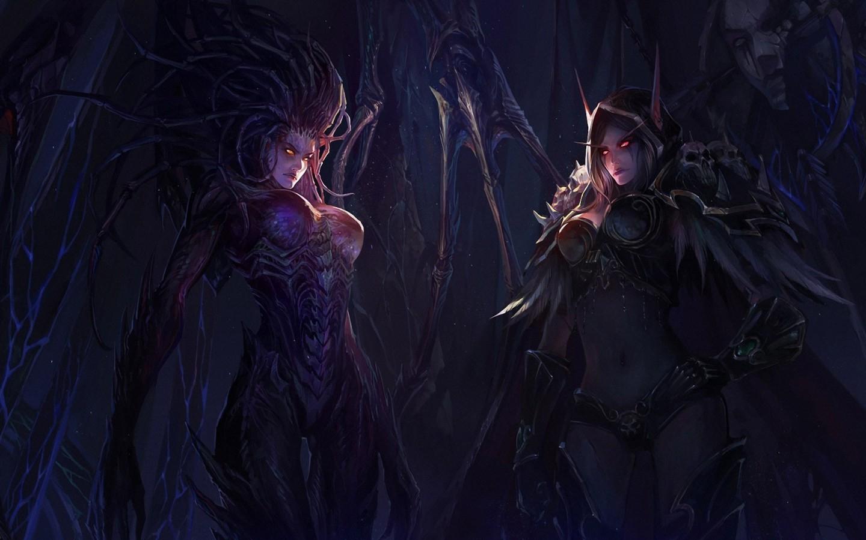 StarCraft II Queen of Blades wallpaper 1 2 1440x900