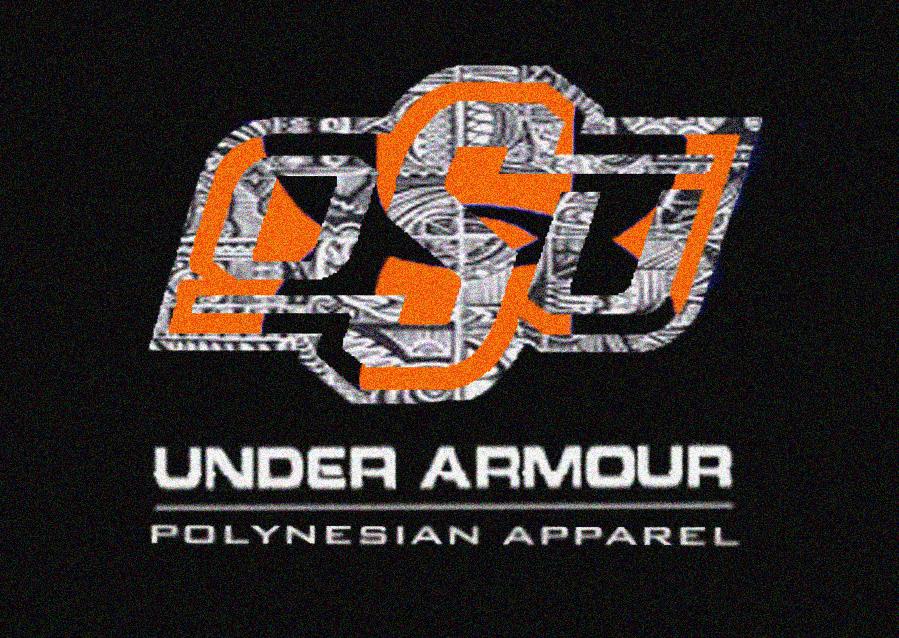 Under Armour Football Logo Wallpaper Polynesian under armor okstate 899x638