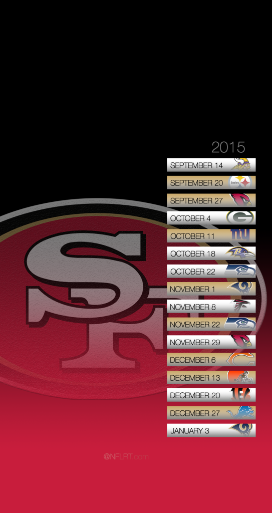 2015 NFL Schedule Wallpapers   Page 8 of 8   NFLRT 543x1024