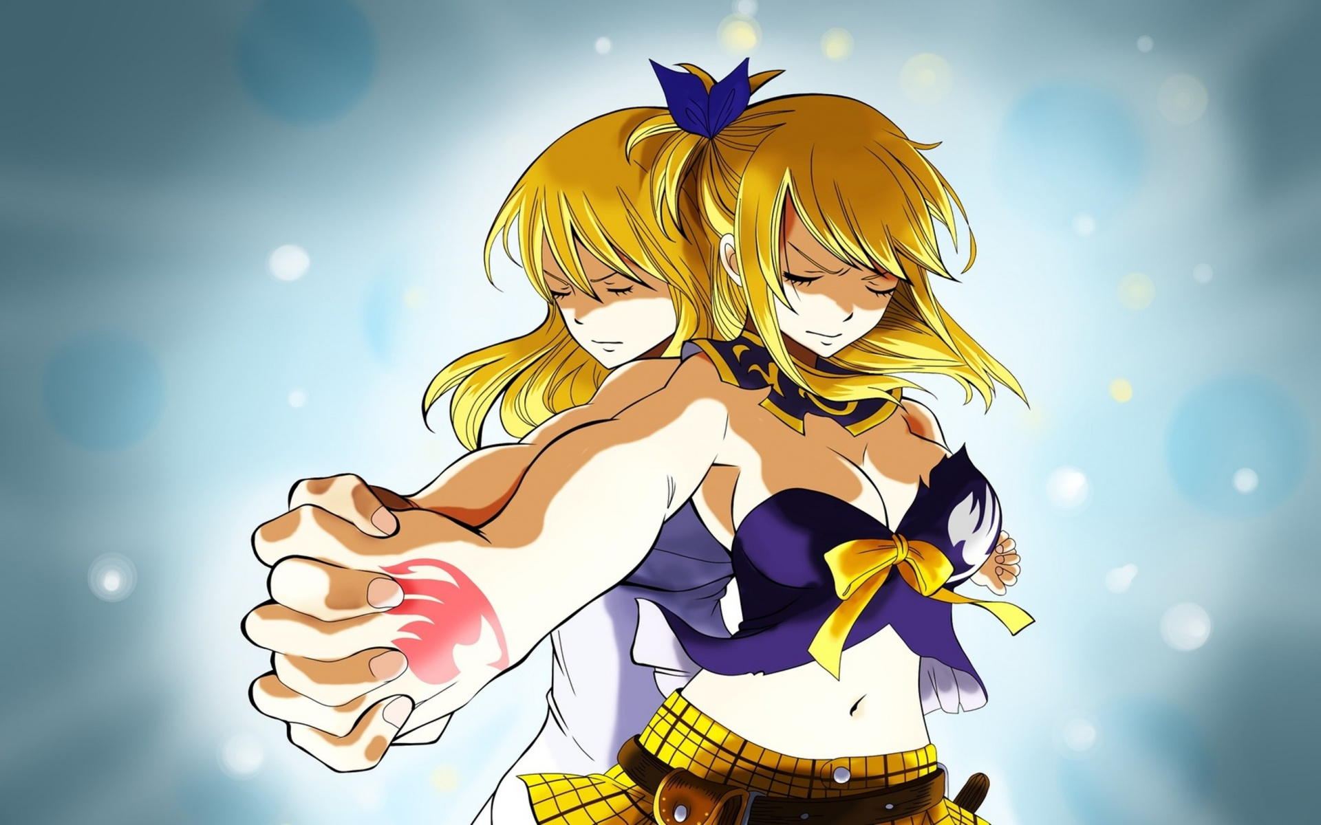Fairy Tail Lucy And Gemini Wallpapers   1920x1200   471435 1920x1200