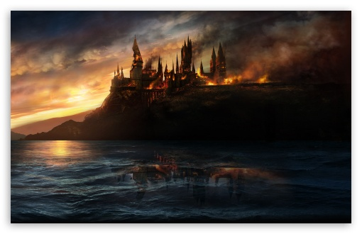 Harry Potter And The Deathly Hallows HD desktop wallpaper Widescreen 510x330