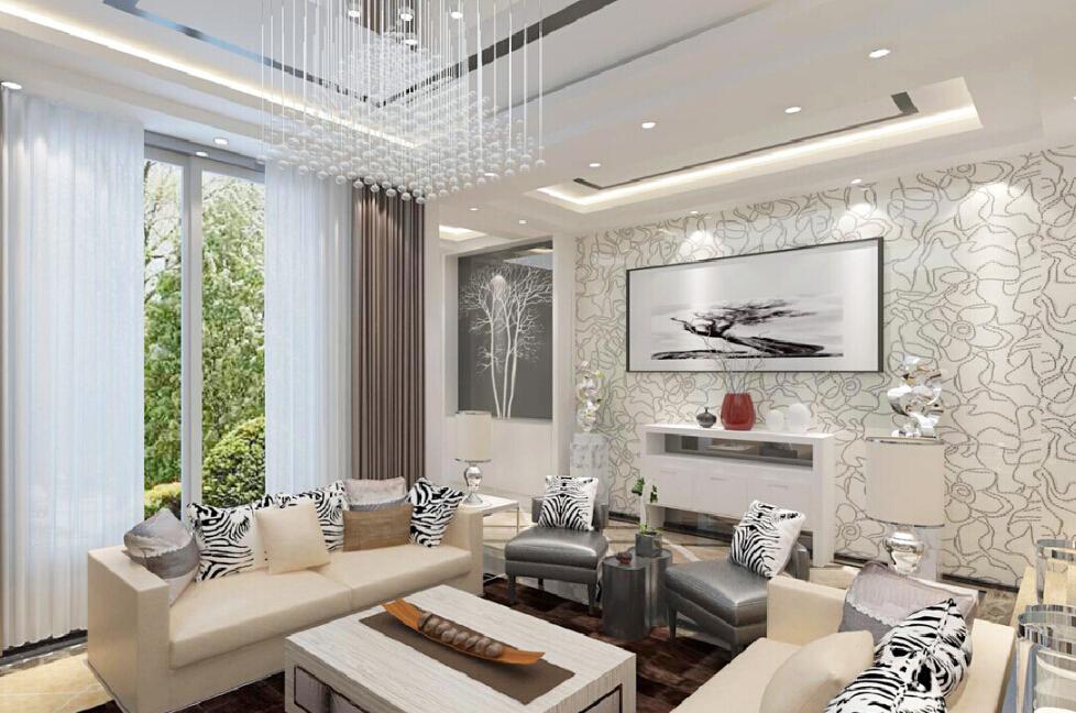 48 3d Wallpaper For Living Room On Wallpapersafari