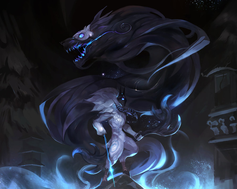 Free Download Kindred League Of Legends By Siakim 1003x797 For