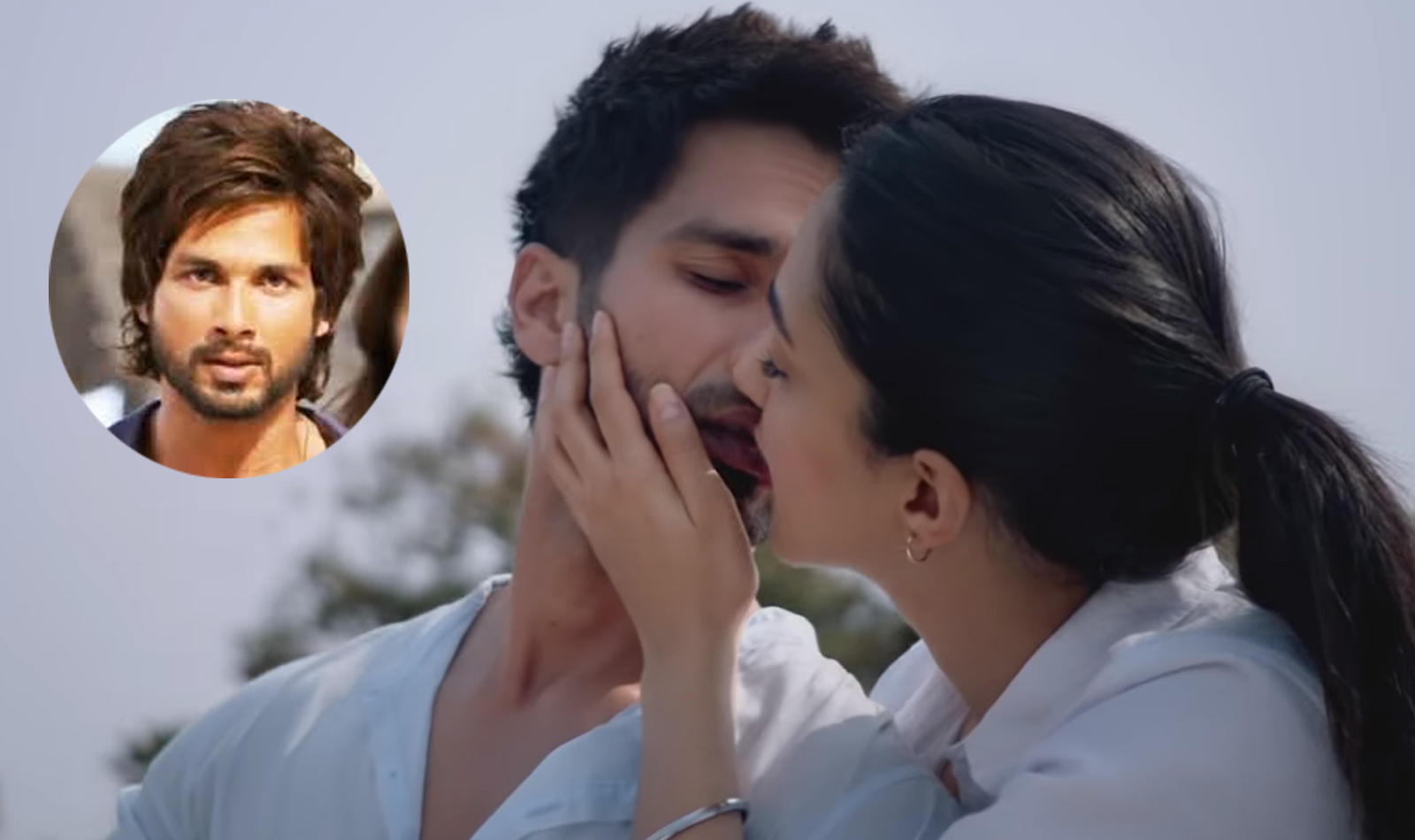 Shahid Kapoor gets angry when asked about kissing scenes with 1600x950