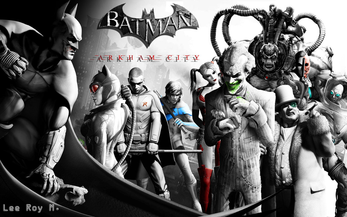 Batman Arkham City by LeeRoyM 1131x707