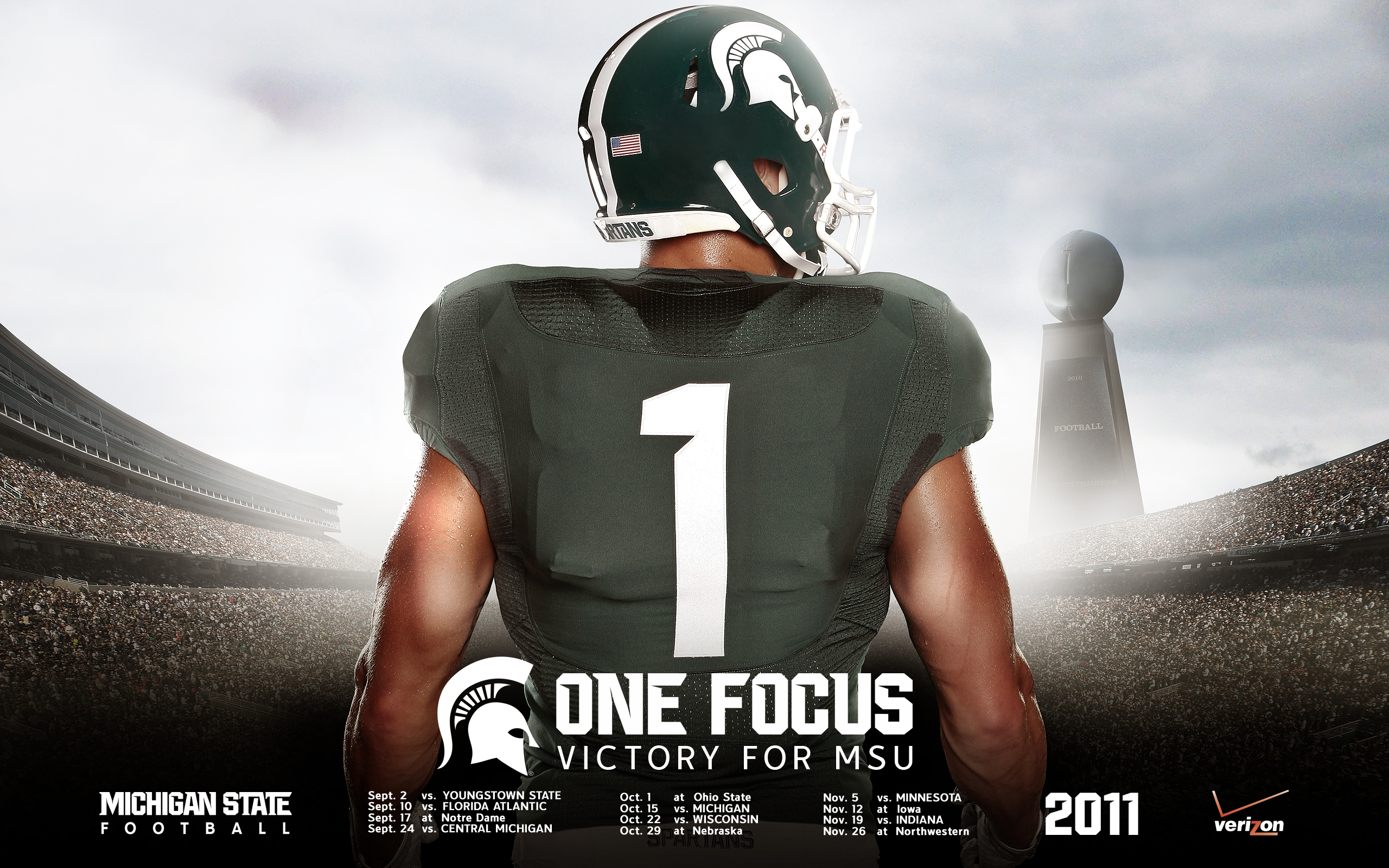 Michigan State University Wallpapers: [50+] Msu Football Schedule 2015 Wallpaper On WallpaperSafari