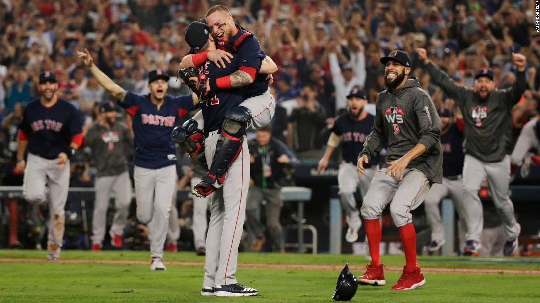Boston Red Sox win 4th World Series in 15 years   Sports News Instant 1100x619