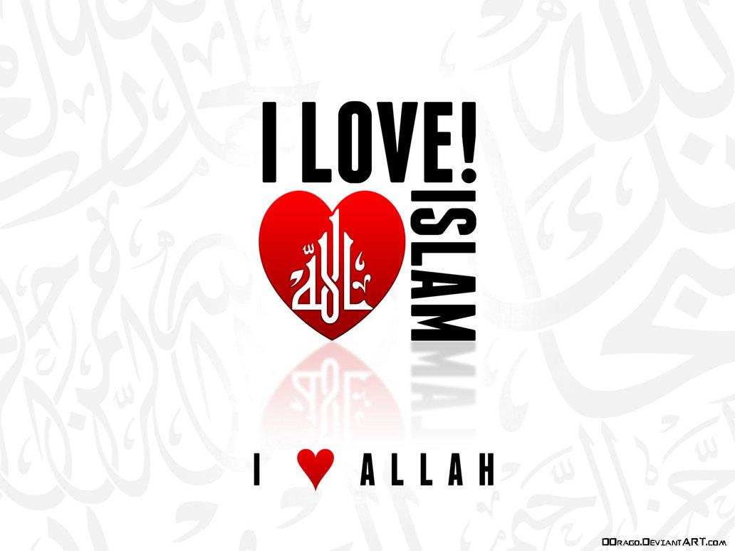 Gambar Islam Bernuansa Teks Islami 1032x774