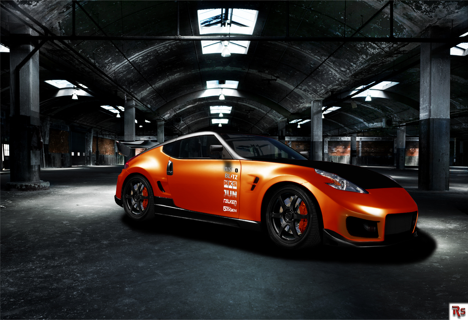 370z Nismo Wallpaper Tuned nismo 370z   orange by 1594x1089
