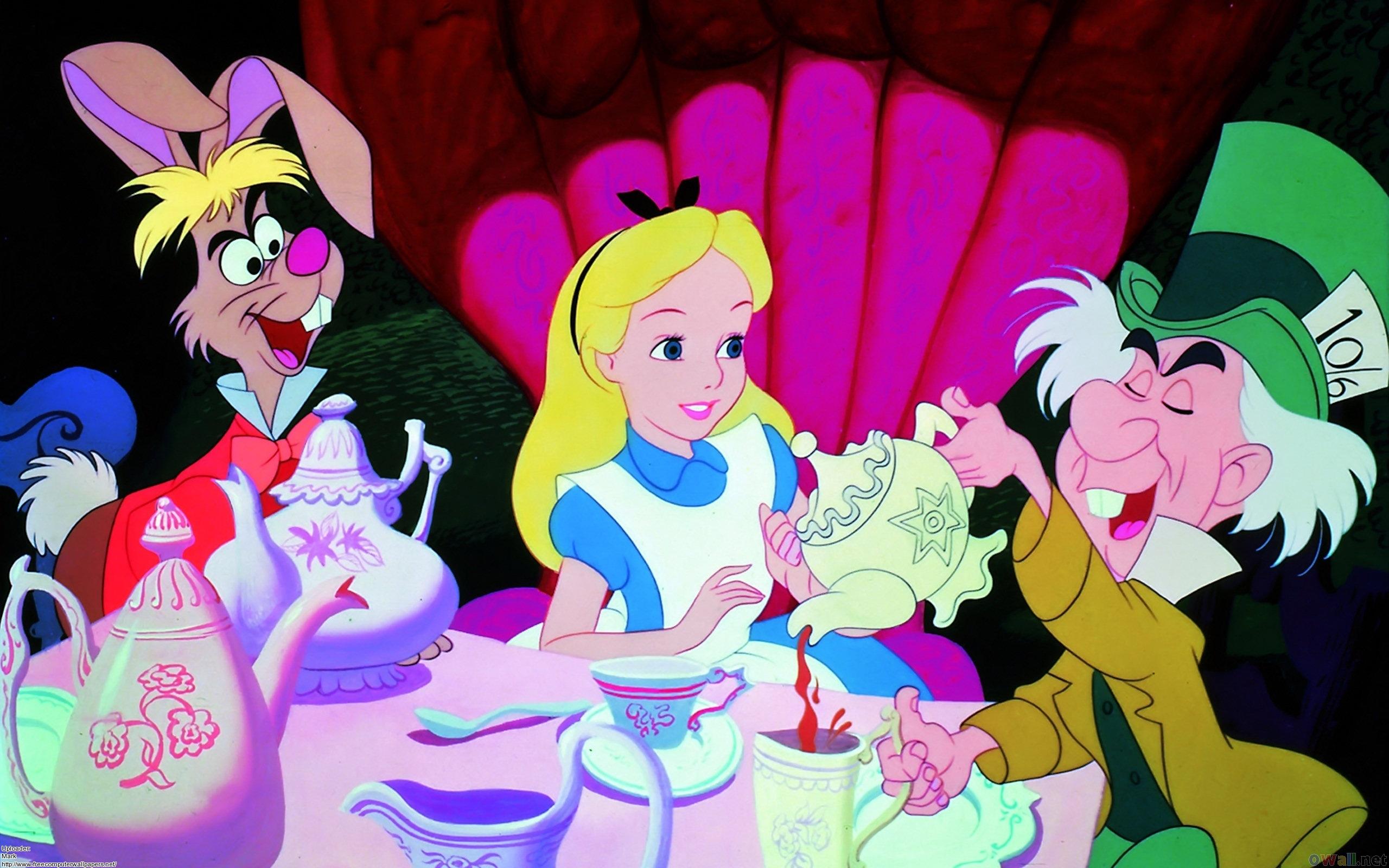 Alice In Wonderland Wallpaper Iphone Wallpapersafari