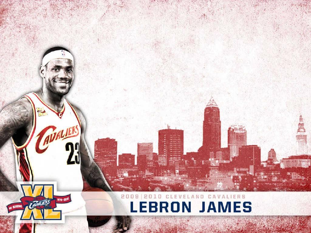 LeBron James Cavs - Cleveland Cavaliers Wallpaper