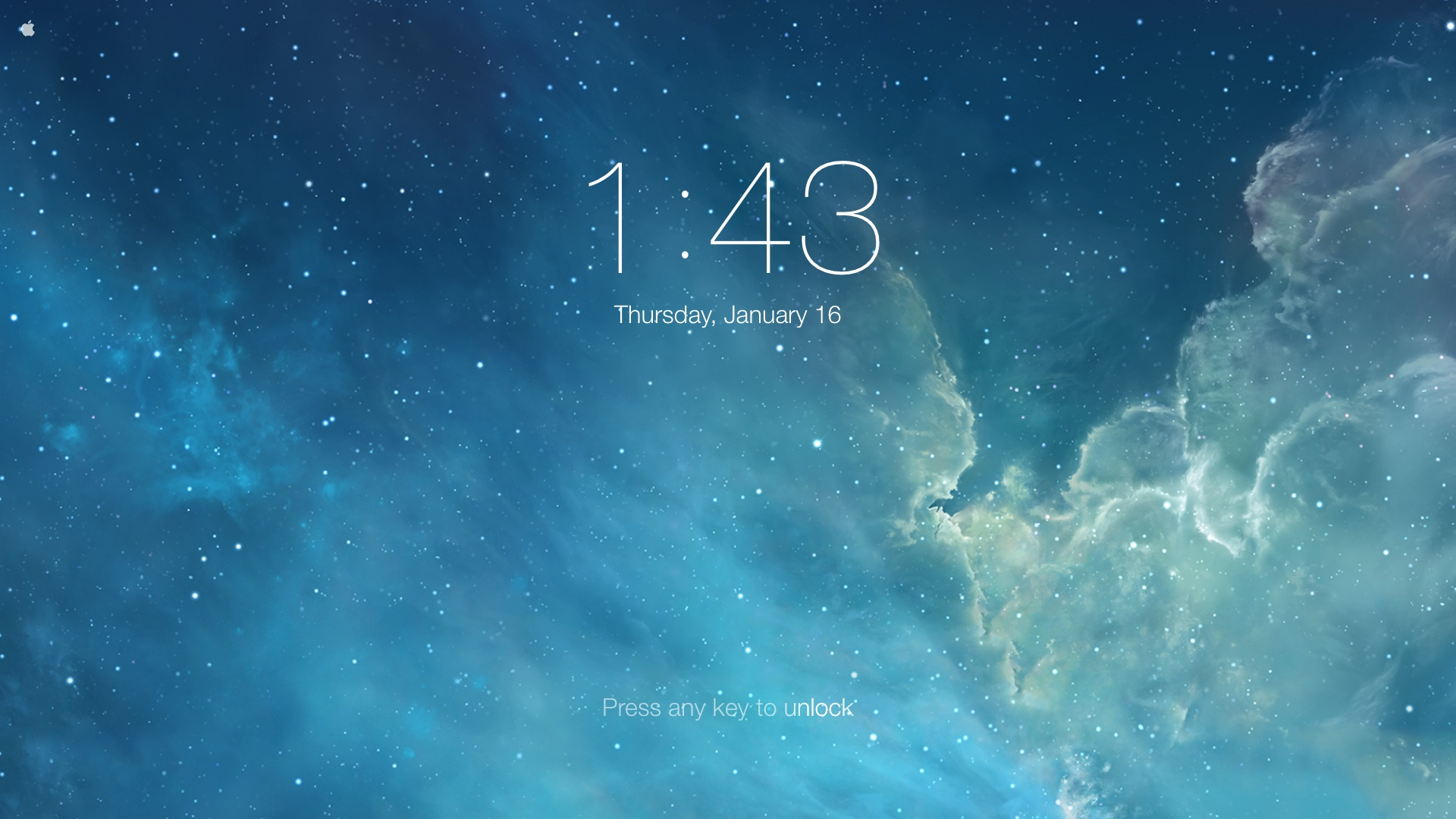 Blog Archive iOS 7 Lockscreen Wallpaper Screensaver Better on Mac 1920x1080